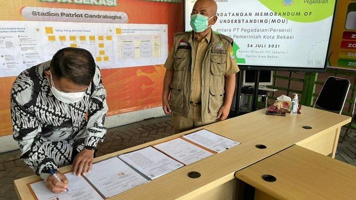 Pegadaian Kanwil VIII Jakarta 1 Resmikan Kerja Sama dengan Pemkot Bekasi Terkait Pembiayaan dan CSR
