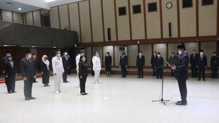 Pejabat DKI Jakarta yang dilantik.