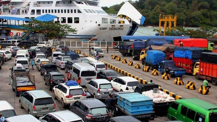Tindak Lanjut Larangan Mudik, ASDP Merak Diminta Hentikan Penjualan Tiket Online Penyeberangan Ferry