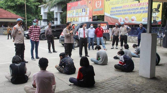 29 Pelajar Tangerang Ikut Aksi Unjuk Rasa Diamankan di Polresta Tangerang,  Data Dicatat di SKCK