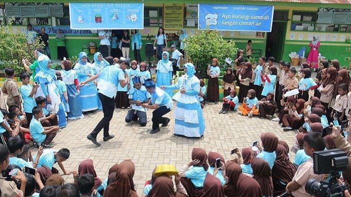 Edukasi 1.900 Siswa SD dan Guru Tentang Pelestrarian Air Bersih, Program Mizuiku SGB Capai 75 Persen