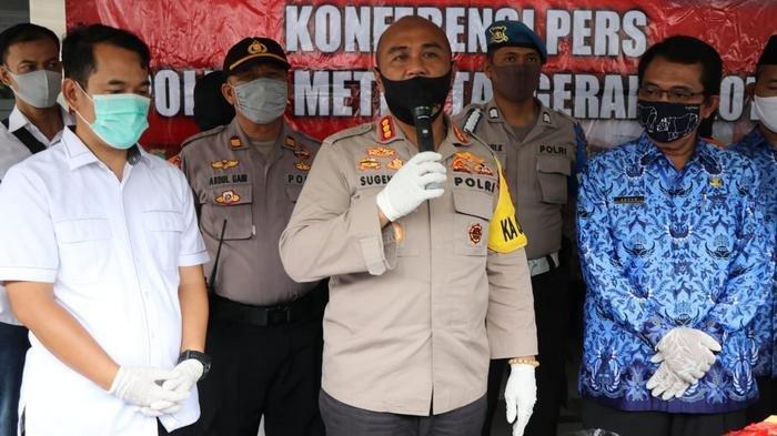 Kapolrestro Tangerang, Kombes Sugeng Hariyanto.