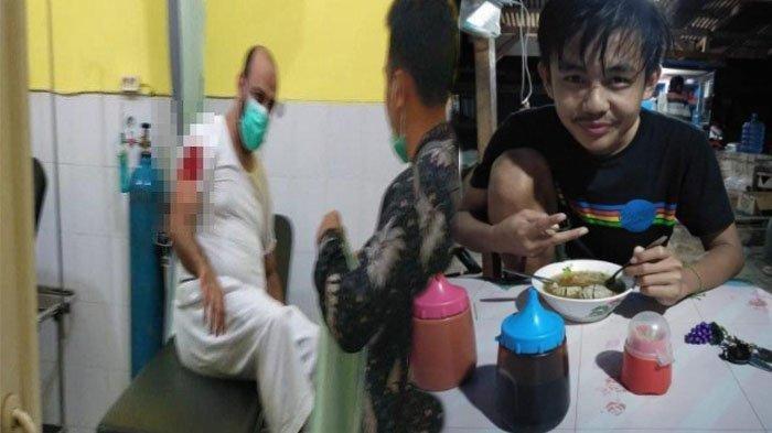 Pelaku penusuk Syek Ali Jaber, Alfian Adrian ditetapkan jadi tersangka