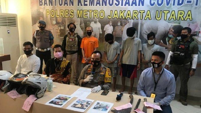 Empat Pelaku Tawuran Antar Kelompok di Kalibaru Cilincing Ditangkap