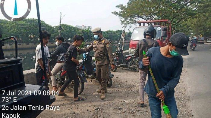 Tiga Kecamatan di Wilayah Jakarta Barat Ini Paling Banyak Terjadi Pelanggaran PPKM Darurat