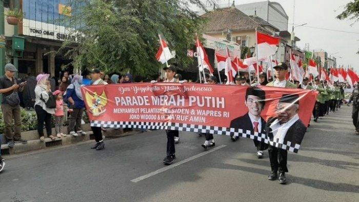 Meriahkan Pelantikan, Foto Jokowi-Ma'ruf Diarak Gunakan Gerobak Sapi, Simbol Sederhana dan Merakyat