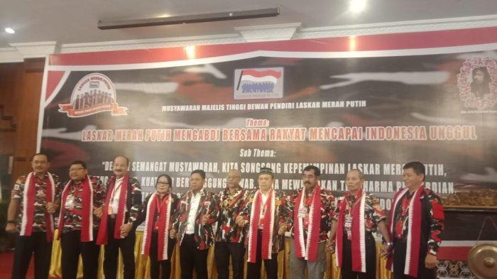 HM Arsyad Cannu Terpilih Jadi Ketua Umum Markas Besar Laskar Merah Putih