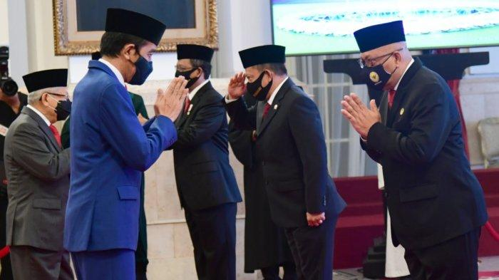 Presiden Lantik Anggota Kompolnas Masa Bakti 2020-2024