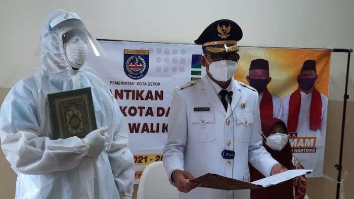 Begini Kondisi Etty Maryati Salim Saat Imam Budi Hartono Dilantik Jadi Wakil Wali Kota Depok