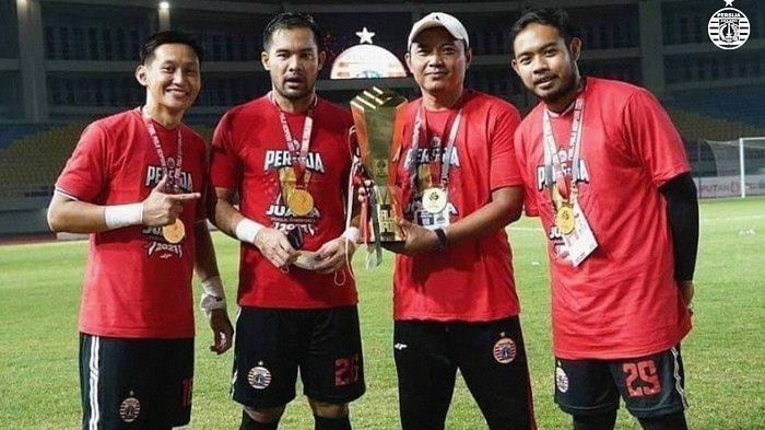 Pelatih Kiper Persija Ahmad Fauzi Bangga dengan Kualitas Lima Penjaga Gawang di Tim Macan Kemayoran