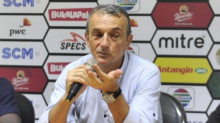 Pelatih PSM Makassar Milomir Seslija Senang Jika Boaz Solossa Bisa Membela Juku Eja di Liga 1 2021