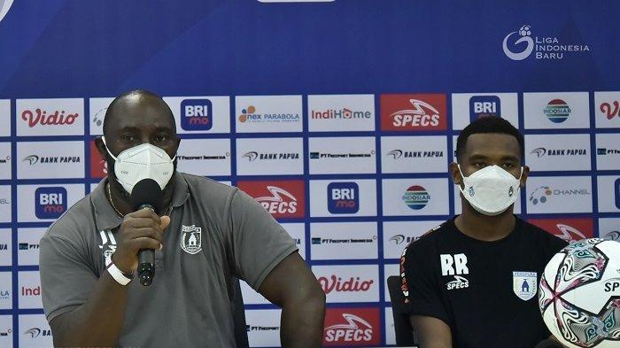 Usai Dikalahkan Persita, Jacksen F Tiago Benahi Finishing Touch dan Organisasi Pertahanan Persipura