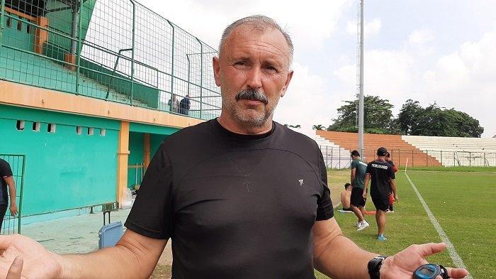 Pelatih PS Tira Persikabo Igor Nikolayevich Kriushenko Senang Timnya Mampu Mengatasi Rasa Lelah