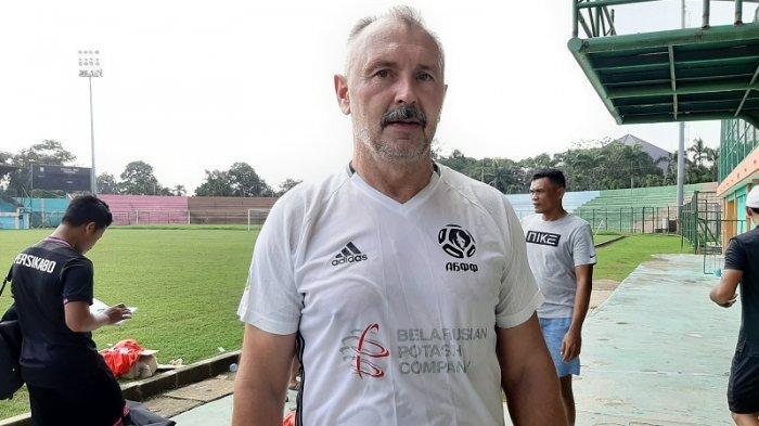 PS Tira Persikabo Menjalani Latihan Perdana, Igor Nikolayevich Kriushenko: Ada yang Mesti Diperabiki