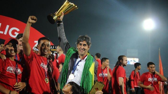 Ini Target Pelatih Bali United Teco untuk Serdadu Tridatu di Tahun 2021