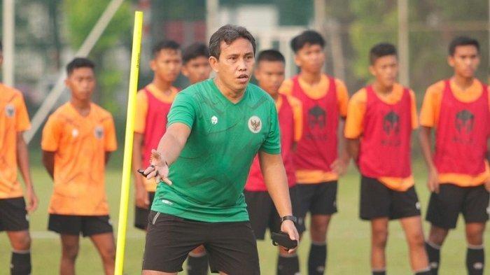 Pelatih Bima Sakti Menyebut Seluruh Peserta Seleksi Timnas Indonesia U-16 Memiliki Skill yang Baik