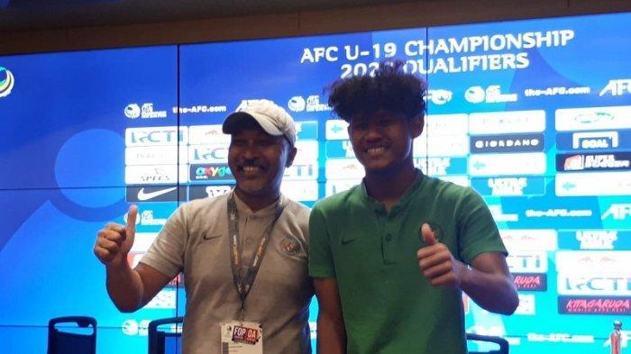 Lolos ke Piala Asia U-19 2020, Fakhri Husaini Sampaikan Pesan ini kepada David Maulana dkk