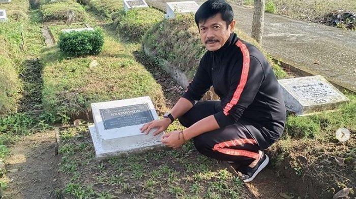 INDRA Sjafri Curhat di Kuburan setelah Timnas U23 Indonesia Gagal Raih Medali Emas SEA Games 2019