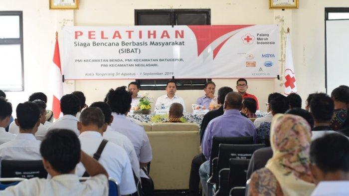 PMI Kota Tangerang Gelar Sosialisasi Dan Pelatihan Mitigasi Bencana Alam