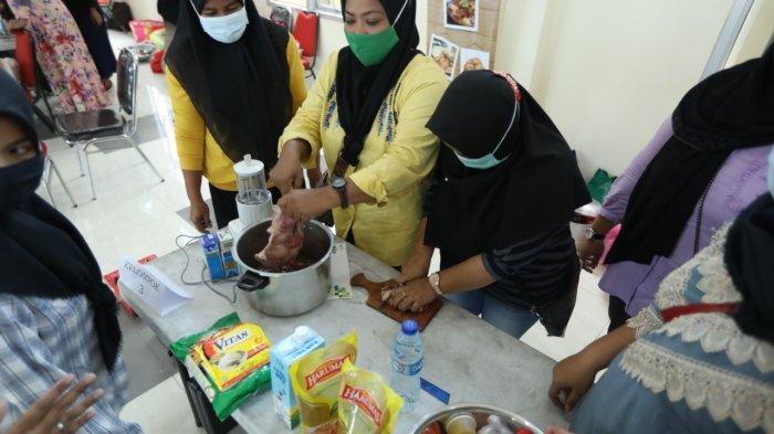 120 Warga Ikut Pelatihan Olahan Margarin dan Minyak Samin. Andri: Bakal Jadi JakPreneur Baru