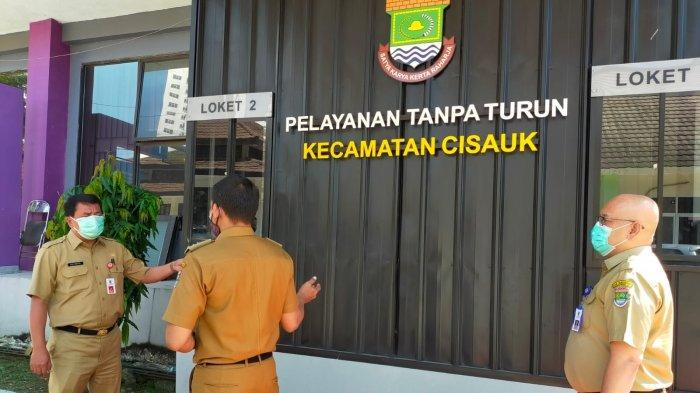 Kecamatan Cisauk Kabupaten Tangerang Buka Layanan Drive Thru, Urus KTP, KK, KIA, SKTM Cuma 10 Menit