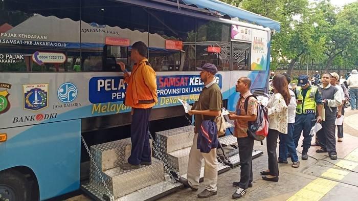 Lokasi SIM Keliling di Jakarta dan Lokasi Gerai Samsat di Jadetabek Sabtu 14 Desember 2019