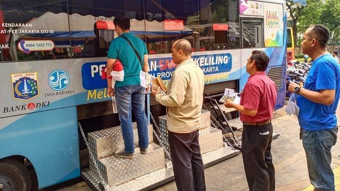 Samsat Keliling Selasa 8 Juni 2021: Tersebar di 14 Lokasi di Jakarta, Tangerang, Depok, Bekasi