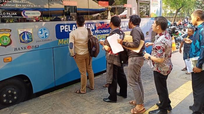 Lokasi SIM Keliling di Jakarta dan Lokasi Gerai Samsat di Jadetabek Jumat 15 November 2019