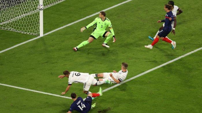 Hasil Sementara Babak Kedua Prancis vs Jerman 1-0, Panser Hanya Kuasai Bola, Gol Mbappe Dianulir