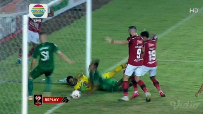 Babak Pertama Perempat Final Piala Menpora PSS Sleman 0-0 Bali United: Kedua Tim Masih Sama Kokoh