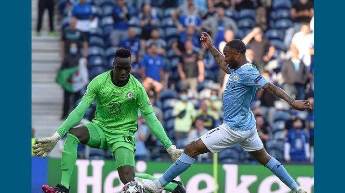 Hasil Babak Pertama Manchester City vs Chelsea 0-1, Serangan Balik Berujung Gol Kai Havertz Menit 42