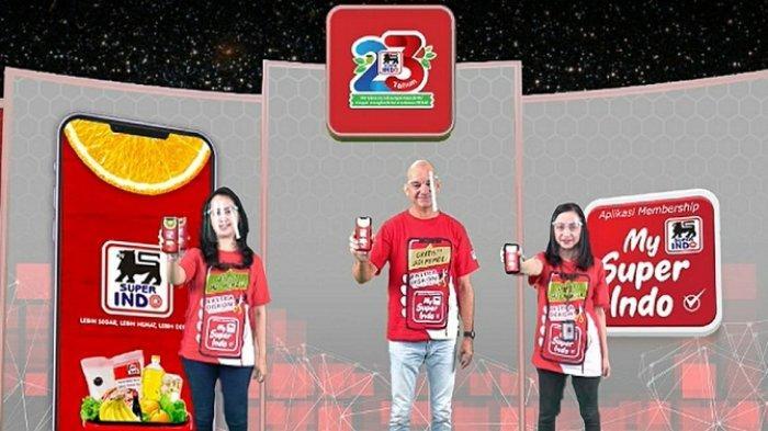 Rayakan HUT ke-23, Super Indo Rilis Aplikasi Membership Digital My Super Indo, Ini Ragam Manfaatnya