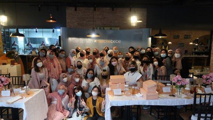 Peluncuran Koleksi Fashion Idul Fitri dari Merche.id dihadiri para influencer terkemuka