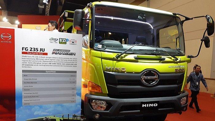 Truk Pengangkut Kendaraan Bermotor Hino FG 235 JU Rilis di GIICOMVEC 2020, Ini Spesifikasi dan Harga
