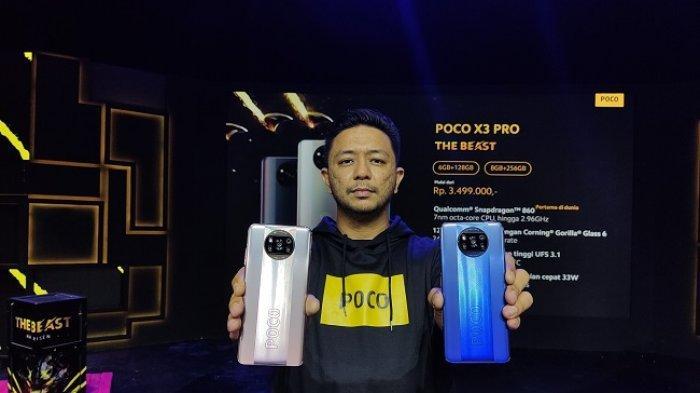 Poco X3 Pro dan Poco F3 5G Resmi Dirilis, DIbekali Prosessor Snapdragon Seri 8, Dijual Rp3,5 Jutaan