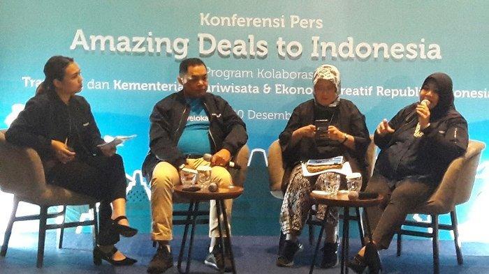 Amazing Deals to Indonesia, Traveloka dan Kemenparekraf Sasar Wisatawan Malaysia dan Singapura