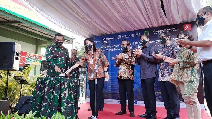 Dukung Transaksi Non Tunai, Bank Indonesia Bersama Kodam Jaya Meluncurkan QRIS