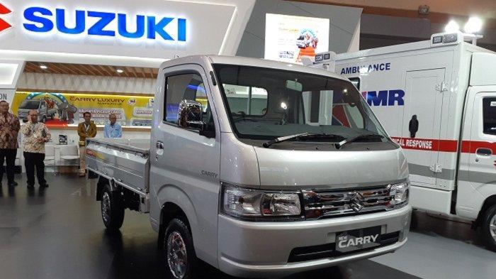 GIICOMVEC 2020, Suzuki Luncurkan Pikap Varian Tertinggi New Carry Luxury,Desain Lebih Eksklusif