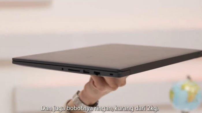 Xiaomi Rilis RedmiBook 15 di Indonesia, Laptop Minimalis denganIntel Core i3 Generasi ke-11