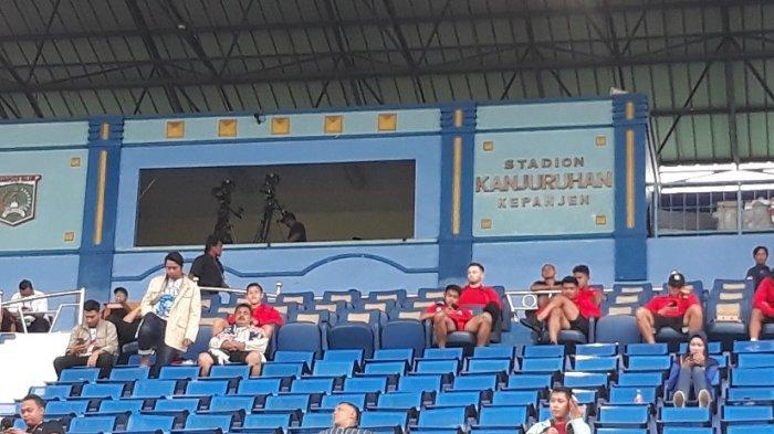Marc Klok Hanya Jadi PenontonSaat Persija Jakarta Hadapi Sabah FA di Piala Gubernur Jatim