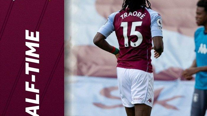 Babak Pertama Aston Villa vs Manchester United: Bertrand Traore Bikin The Lions Ungguli Setan Merah