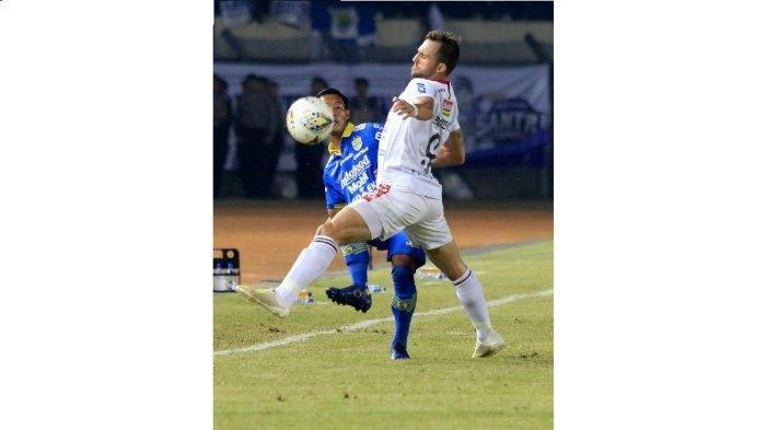 Ilija Spasojevic Cetak Gol Pertama ke Gawang Persib Sejak Hengkang dari Maung Bandung 2016 Silam