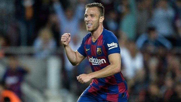 Jelang Liga Champions Barcelona Vs Napoli, Arthur Melo Tolak Bermain Gara-gara Dilepas ke Juventus