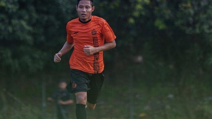 Evan Dimas Ungkap Kebahagiaan Latihan Bareng Persija Jakarta di SUGBK