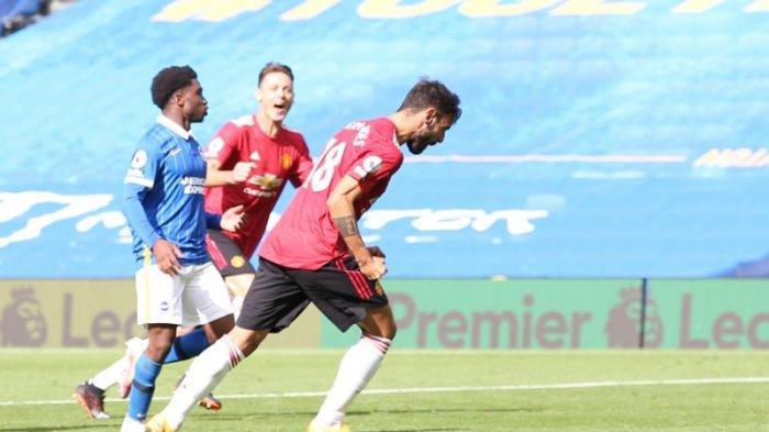 Manchester United Bungkam Brighton 3-2, Gol Penalti di Menit ke-90+11 Jadi Penentu Kemenangan