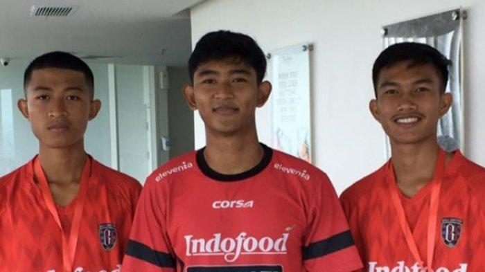 Tiga Pemain Muda Bali United Ikut Seleksi Garuda Select 3 Di Bogor