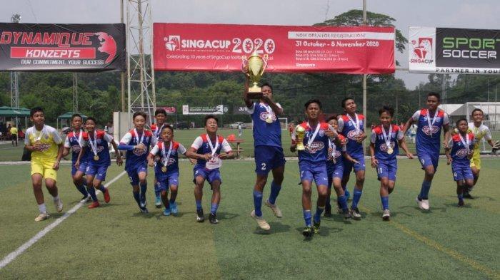 Okky Youth Soccer Team Pertahankan Gelar Juara Singa Cup