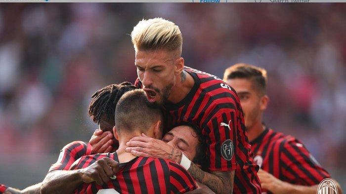 Sedang Berlangsung AC Milan vs Sassuolo 1-0, Gol Tendangan Terukur Hakan Calhanoglu