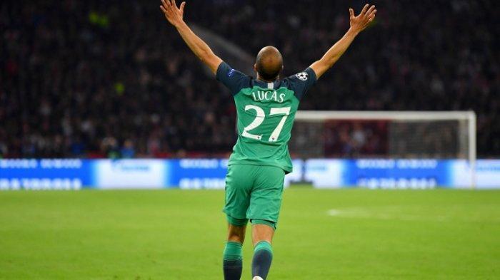 Hatrick Lucas Moura Bawa Tottenham Hotspur Melenggang ke Final Liga Champions