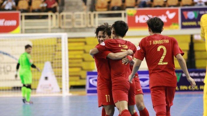 Timnas Futsal Indonesia Melaju ke Laga Final AFF Futsal Championship